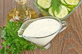 White sauce — Foto Stock