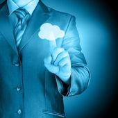 Cloud interface — Stock Photo
