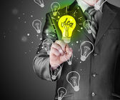 Light of idea — Stock Photo