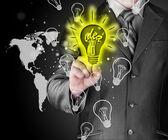 Licht idee — Stockfoto