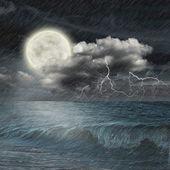 Storm evening — Stockfoto