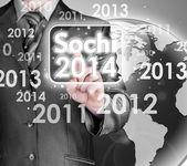 Sochi 2014 olympiad — Stock Photo