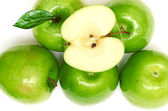 Green apple fruits — Stock Photo