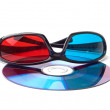 Pair of 3D glasses — Stock Photo