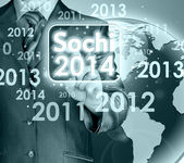 Interface Sochi 2014 — Foto Stock