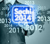 Interface Sochi 2014 — Stock Photo