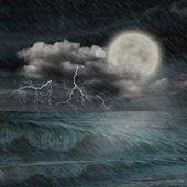 Storm evening — Stock Photo