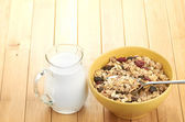 Cereal in bowl — Stock Photo