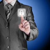 Virtual security button — ストック写真