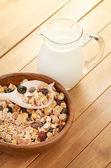 Cereal in bowl — Stockfoto