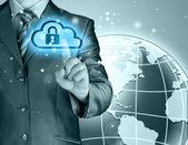 Secure Online Concept — Stock Photo