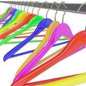 Cabides de cor — Foto Stock