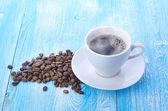 Frijoles y café — Foto de Stock