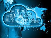 Le cloud computing — Photo
