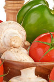 Zelenina a houby — Stock fotografie