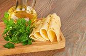 Ser i oleju — Zdjęcie stockowe