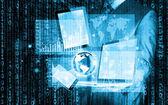 Technologies in hands — Zdjęcie stockowe