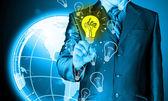Light of idea — Stockfoto