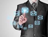Concetto di e-mail — Foto Stock