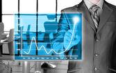 Símbolos financeiros — Fotografia Stock