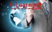 Concept de e-learning — Photo