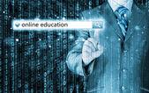 オンライン教育 — ストック写真