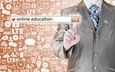 образование онлайн — Стоковое фото