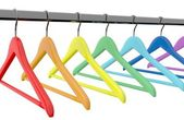 Color  hangers — Stock Photo