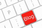 Blog-schaltfläche — Stockfoto