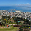 Baha'i World Center in Haifa — Stock Photo