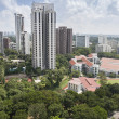 Residential area in Singapore — Stock Photo #12863376