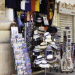 Showcase of souvenir shop in Valletta, Malta - Stock Photo