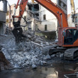 Demolition of an old building — Stock Photo #19441233
