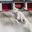Stock Video: Hydroelectric power station