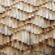 Wooden shingles texture — Stock Photo