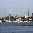 Постер, плакат: Tall ships in Riga