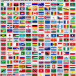 Flags of World States — Vettoriale Stock