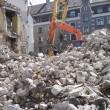 Demolition of an old building — Stock Photo #46362241