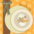 Baby shower card — Stock Photo #21519067