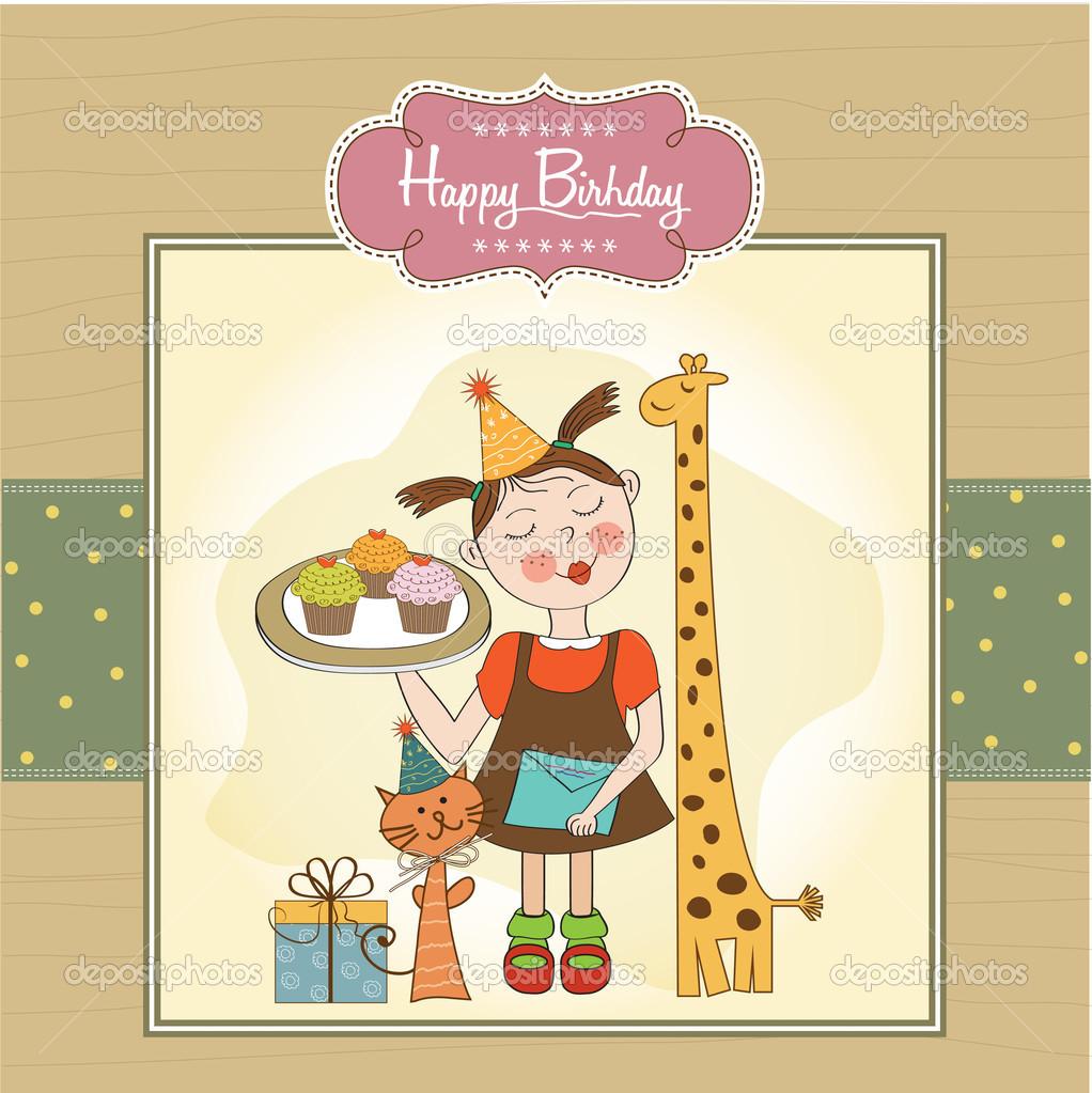 Funny Birthday Cards For Girls 1000do – Funny Girl Birthday Cards