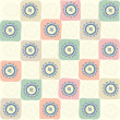 Childish seamless abstract pattern — Stock Photo