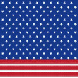American flag background with stars symbolizing 4th july indepen — Foto Stock