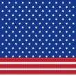 American flag background with stars symbolizing 4th july indepen — Foto de Stock