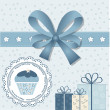 Baby shower — Vector de stock #37726569