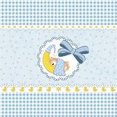 New baby announcement — 图库矢量图片