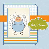 Baby Shower — Vettoriale Stock