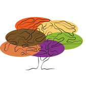 árvore estilizada — Vetorial Stock