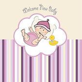 Witamy noworodek — Wektor stockowy