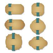 Ročník štítky — Stock vektor