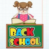 Back to school — Vector de stock